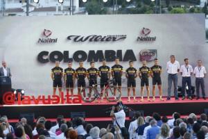 Vuelta Spagna 2015 - 70a Edizione - Presentazione Team - 21/08/2015 - Colombia - foto Luca Bettini/BettiniPhoto©2015