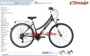 discovery urban 28 lady aluminium maquetada