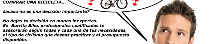 Comprar bicicleta:¿Qué bicicleta me compro?