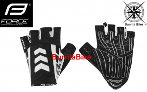 FORCE GLOVES DARTS GEL W O CLOS.BK WH