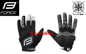 FORCE GLOVES MTB AUTONOMY BLK lady