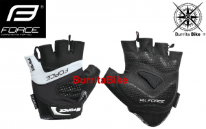FORCE GLOVES RAB GEL BLACK