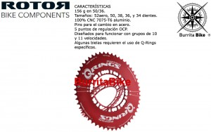 Q-RINGS ROJOS 110 BCD