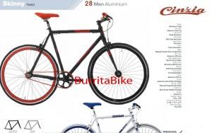 skinny fixed man aluminium maquetada