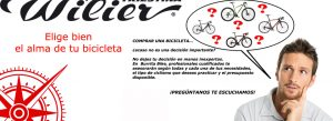 Comprar una bicicleta… ¿acaso no es una decisión muy importante?